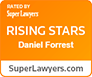 Rated By Super Lawyers | Rising Stars Daniel Forrest | SuperLawyers.com